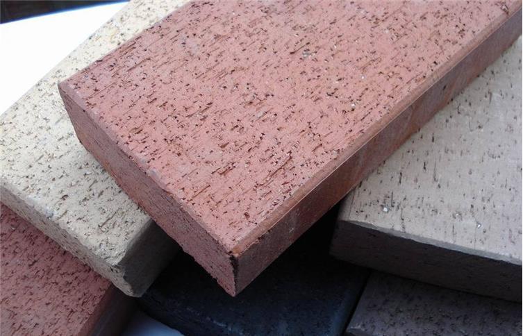 传统黏土烧结砖切片(元宝缝)