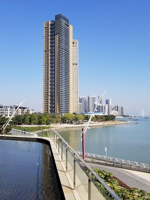 深圳海上世界双玺花园超高层住宅项目