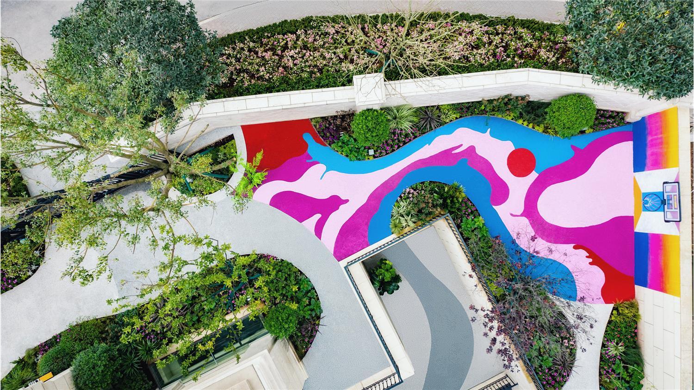 重庆香港置地约克郡样板花园设计