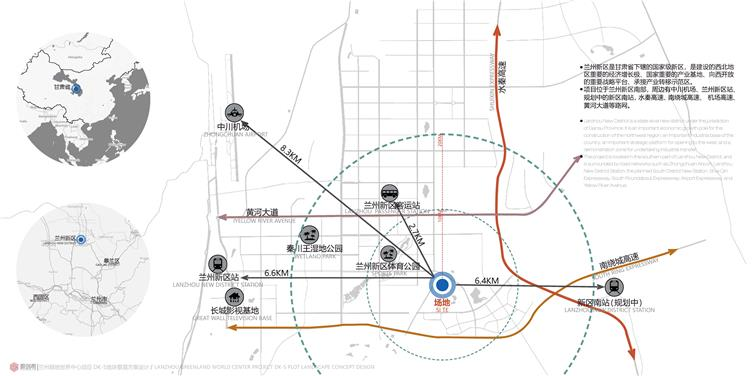 兰州绿地世界中心DK5地块展示区