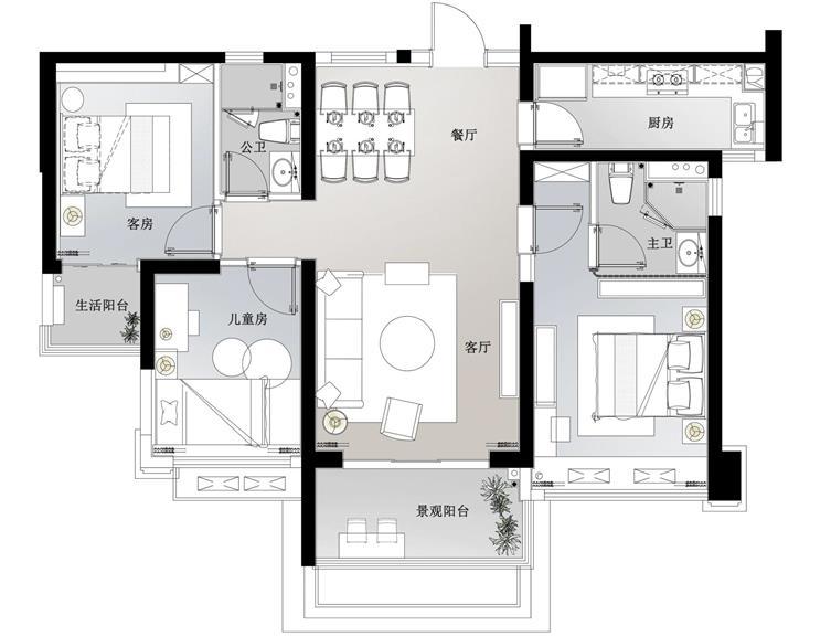 深圳百搭园-潮州45亩阳光禧园项目E 户型图.jpg