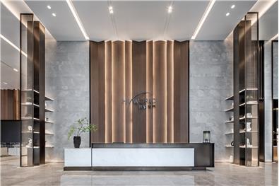 武汉海伦堡 · 海悦世界售楼处空间