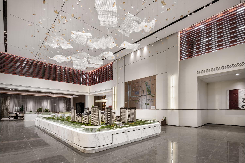 金科益华·尚城售楼处软装设计及工程