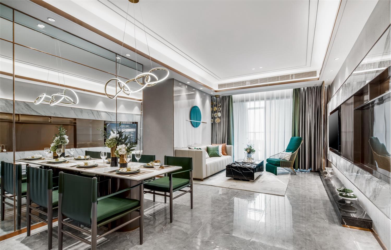 伊派设计丨现代轻奢&艺术空间样板房设计