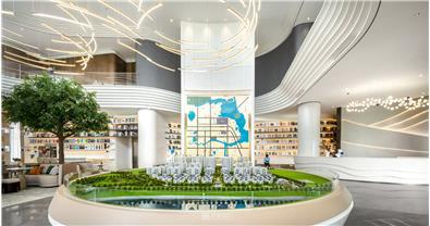 伊派设计丨湖南常德水文化主题营销中心设计
