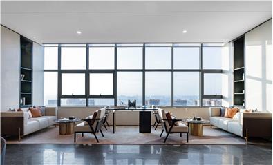 聚舍联合设计 | 昆明海伦堡 · 海伦国际售楼空间