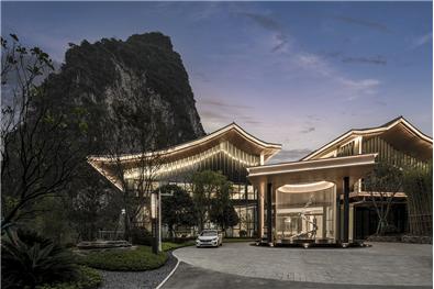 桂林荔浦天誉翡翠谷营销中心