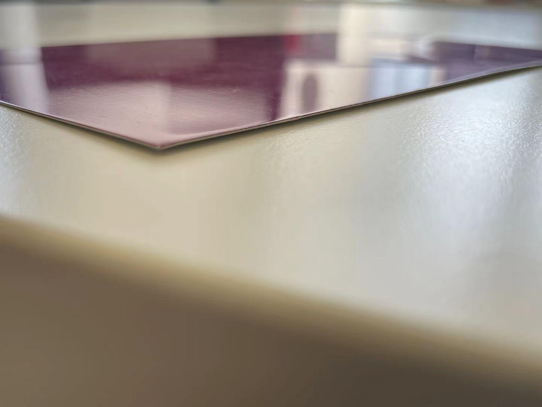 红色幻彩复合铝板
