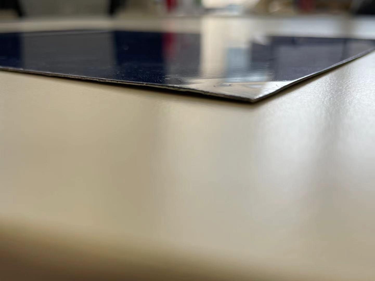 蓝色幻彩复合铝板