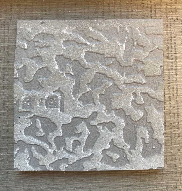 深色石地砖