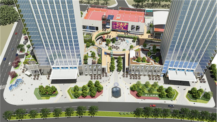 商丘建业 · 总部港大区