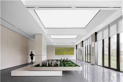 济南力高雍湖郡未来城售楼中心