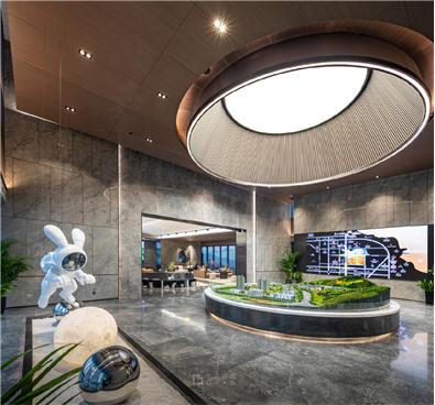 烟台龙湖·春江天玺售楼处设计项目