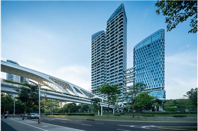 深圳新润园金迪世纪大厦景观设计
