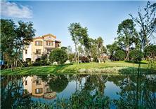 成都海航香颂湖国际社区景观设计