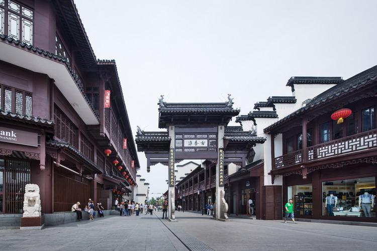 南京夫子庙改造一期景观设计
