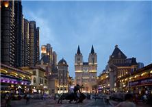 武汉世界城光谷步行街建筑设计