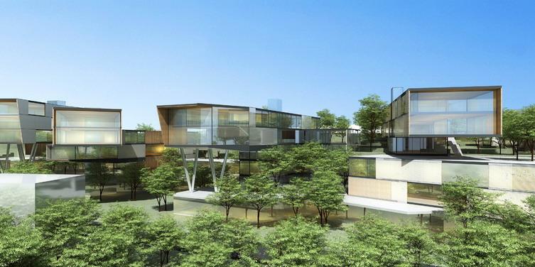 重庆天安数码城一期景观规划与方案设计
