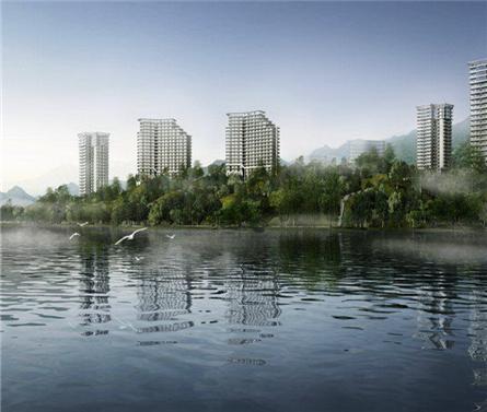 安徽黄山盛高太平湖国际公寓二期建筑方案设计