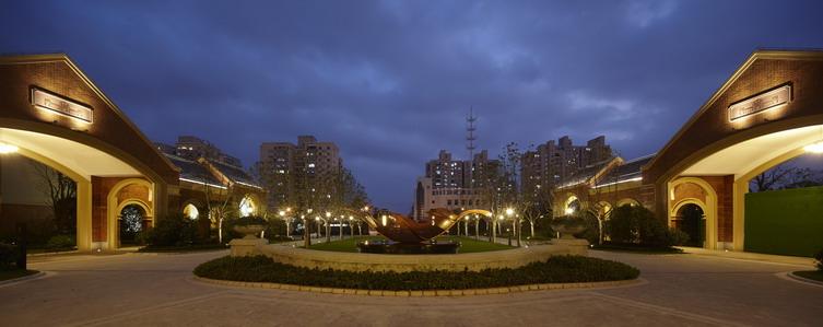 上海万科海上传奇景观设计