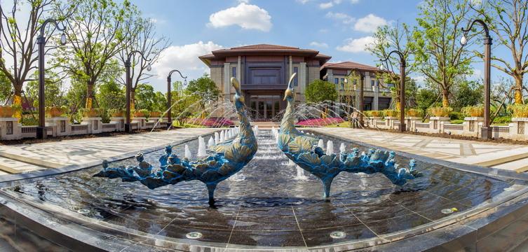 苏州世茂铜雀台景观设计