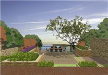 威海長青蔚藍海岸景觀方案設計
