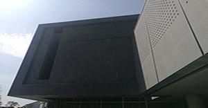 郑州万科企业会馆项目-米伽轻质环保石材板MS1002